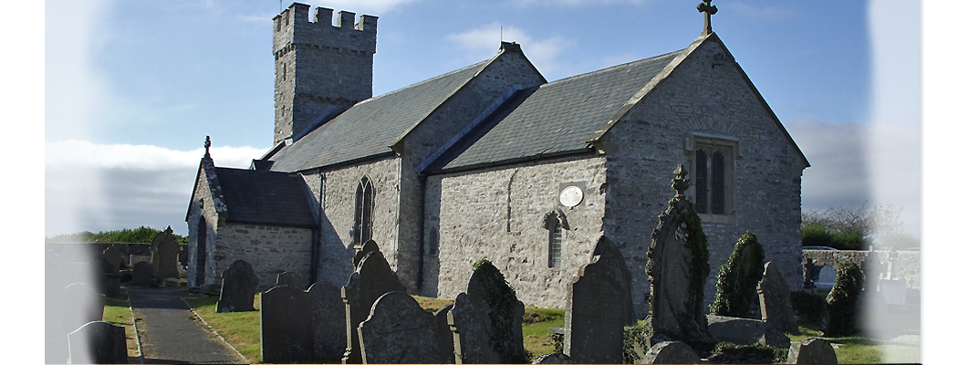 An image of Pennard church on the Gower